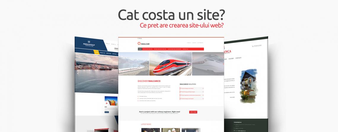 Cat costa realizarea unui site web ?