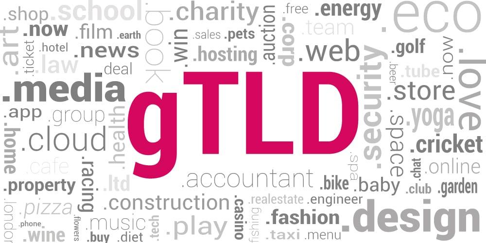 Noile extensii de domenii gTLD